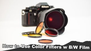 How to Use Colored Filters with Black and White Film