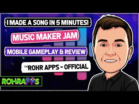 I made a song in less than 5 minutes! Music maker Jam!🕺🕺