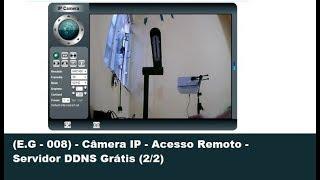(E.G - 008) - Câmera IP - Acesso Remoto - Servidor DDNS Grátis (2/2) thumbnail