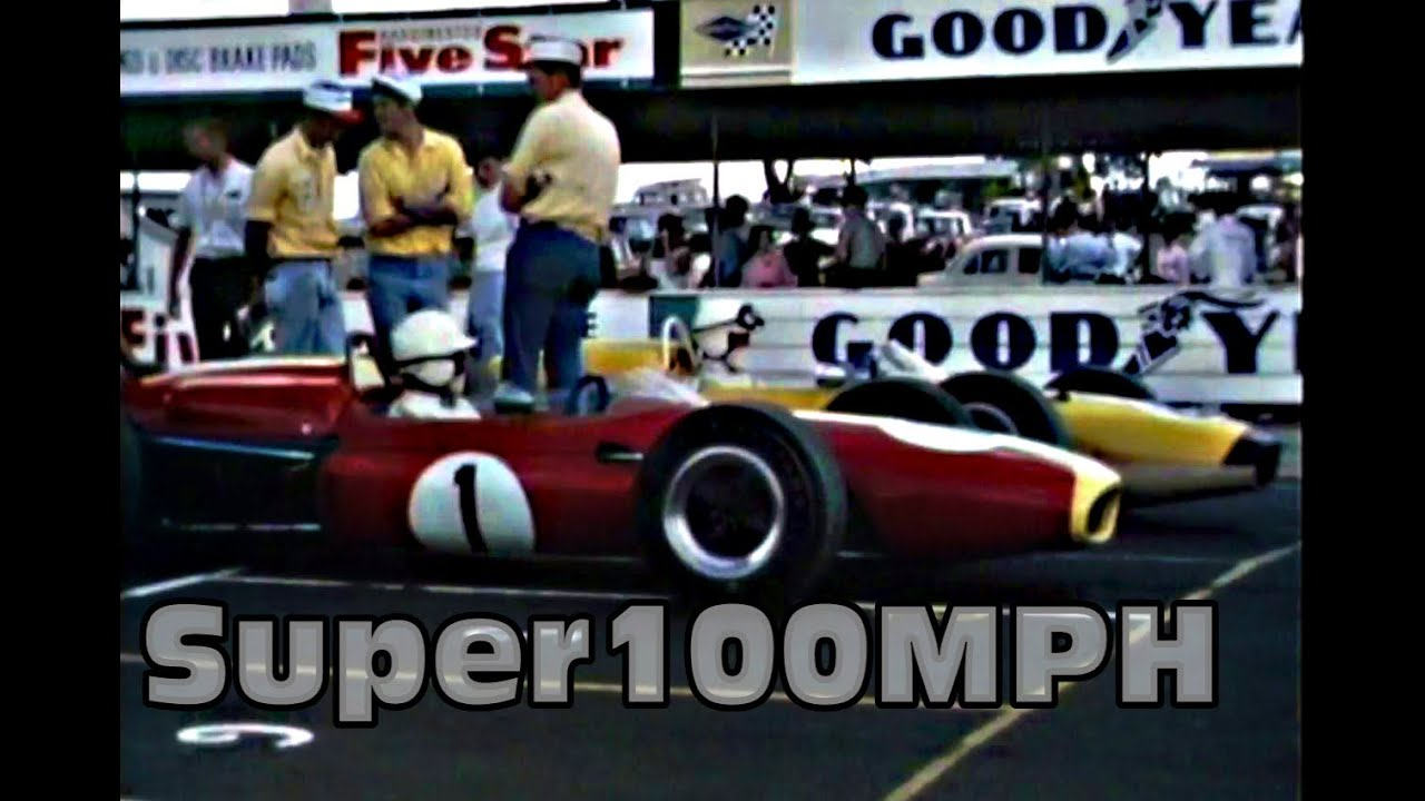 Great Bathurst footage, especially KB (Easter 1967 meeting