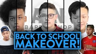 BACK TO SCHOOL MAKEOVER (He gets a flat top!)