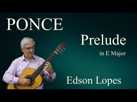 Prelude in E Major (Manuel Ponce)