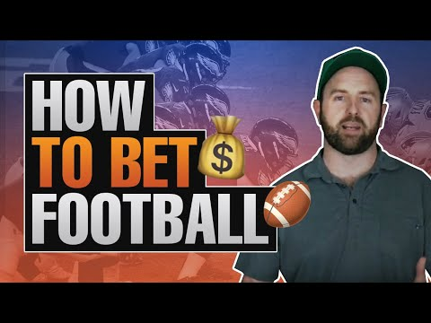 """""""How To Bet Football"""" Sports Gambling Advice From A NFL Betting Expert"""