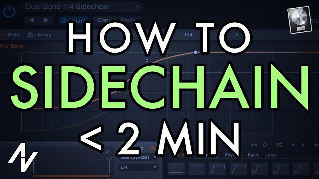 How to Sidechain in Under 2 Minutes! (Sidechain Compression Tutorial)  [Logic X]