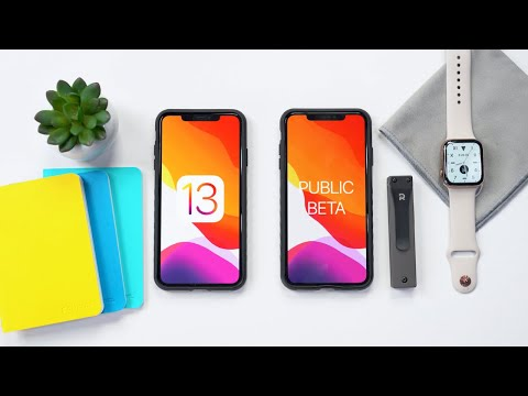 IOS 13 Public Beta Released! How To Install? (No Computer)