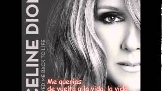 Celine Dion-Loved me back to life-Spanish subtitles/Subtitulada en español