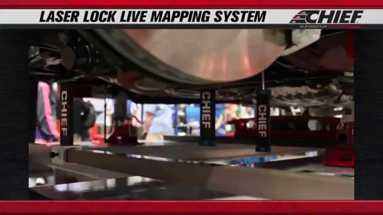 Sema 2014 Chief Laserlock Live Mapping System Youtube