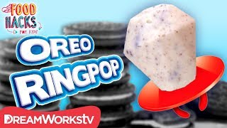 Cookies n Creme Ringpop + More Oreo Hacks | FOOD HACKS FOR KIDS