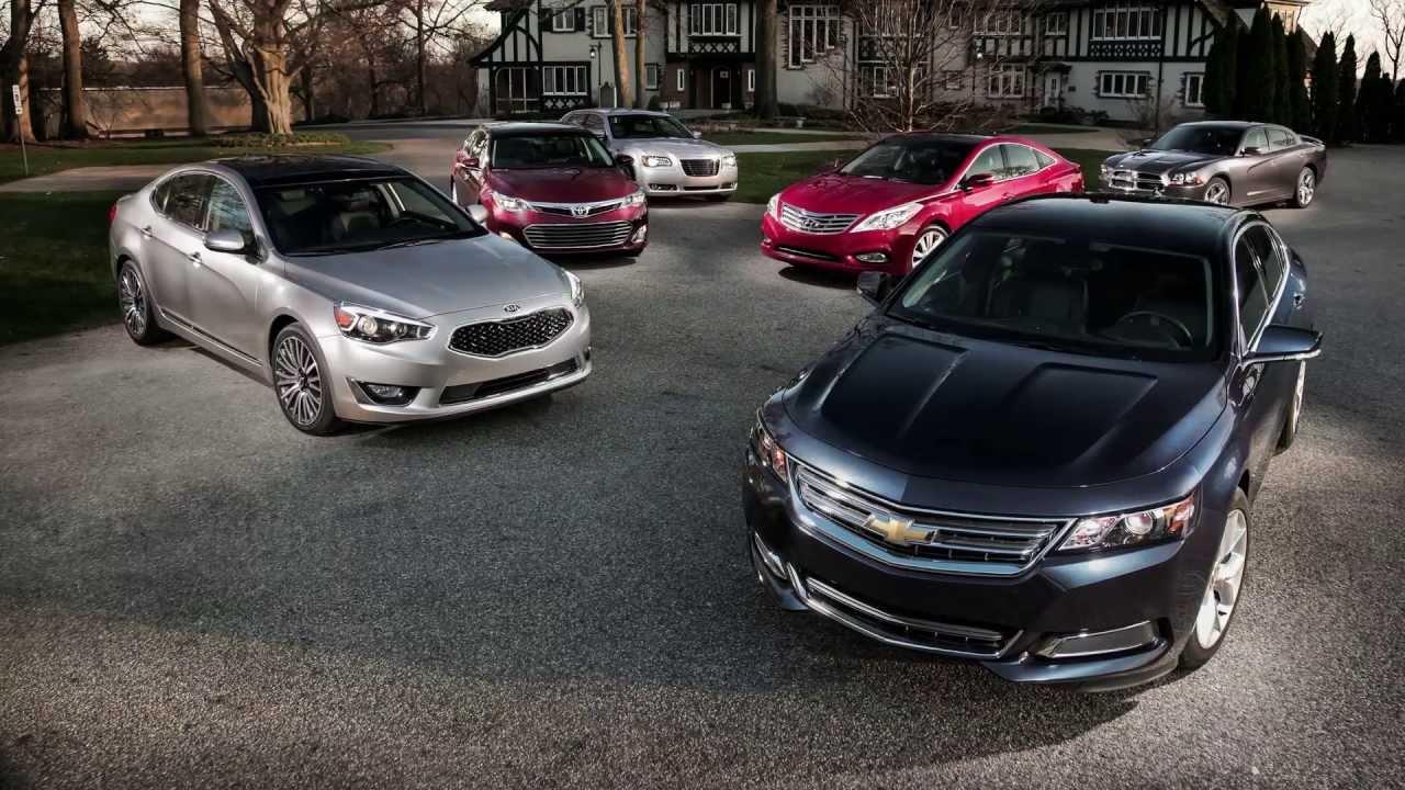 2014 Chevrolet Impala Vs Chrysler 300s Dodge Charger