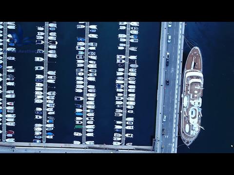 (Drone) Gibraltar: Small Boats Marina