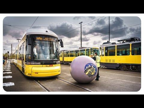 Berliner Straßenbahn • Tram EM 2016 in Berlin • trams in Berlin • Trambowling