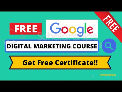Google Free Digital Marketing Course | Free Digital Certificate | How to Join?