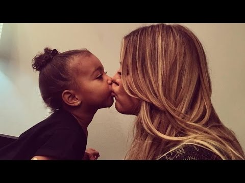 """North West """"Does Not Like"""" Her Brother Saint, Kim Kardashian Says"""