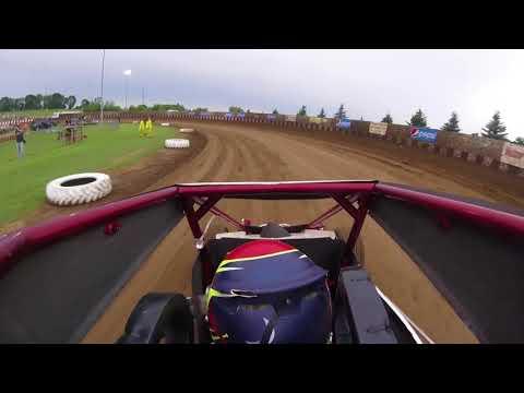 Zach Daum | POWRi Midgets @ Angell Park Speedway | 7/9/17