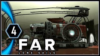 FAR: Lone Sails Gameplay PC - Paddle from the Pier [Part 4]