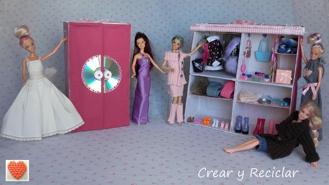 C mo hacer armarios perchas y ganchos de ropa para for Perchas con ganchos
