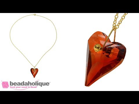How to Make a Wire Pendant Bail Using a Head Pin