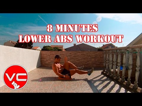 8 MINUTE LOWER ABS WORKOUT