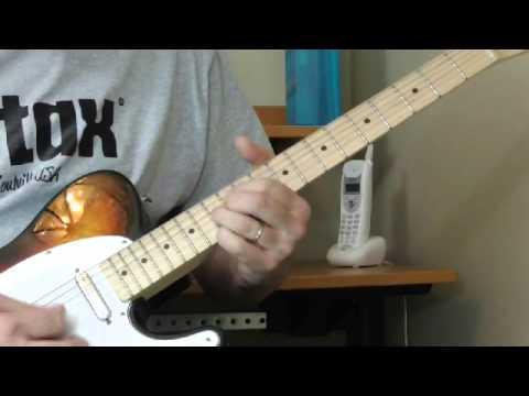 Cotton Crop Blues Guitar Lesson  - Part 1 Introduction