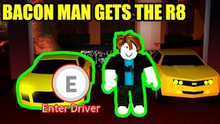 BACON HAIR UNLOCKS the LEVEL 30 AUDI R8 | Roblox Jailbreak