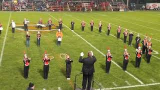 North Baltimore High School Marching Band Senior Show 2018