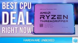 Insane Deal: 12-core Threadripper 1920X For Only $420