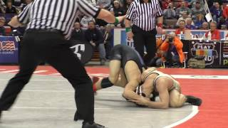 Undefeated Spencer Lee loses his last high school match at 2017 PIAA Wrestling Championships