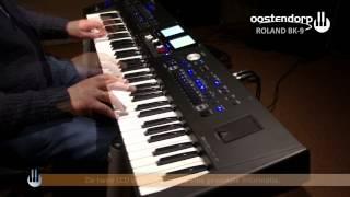 Roland BK-9 Keyboard demonstratie