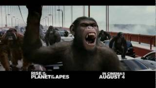 Rise of the Planet of the Apes - In cinemas August 4