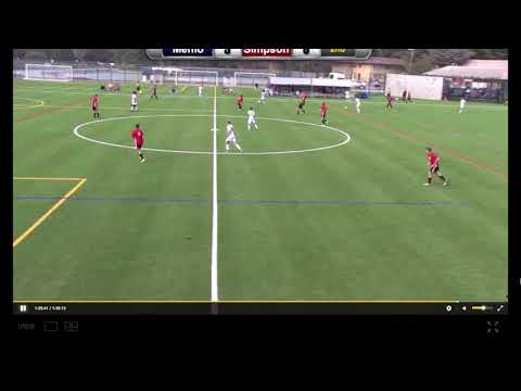 Jared Pangindian Recruitment Video (Menlo College Soccer Highlights)