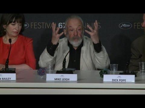"""Cannes 2014: conférence de presse du film """"Mr Turner"""""""