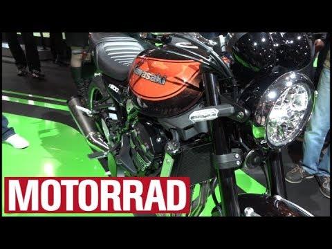 Kawasaki Z 900 RS Auf Der Eicma 2017