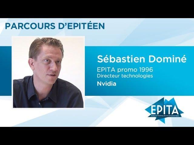 Parcours d'Epitéen - Sébastien Dominé (promo 1996) - Nvidia