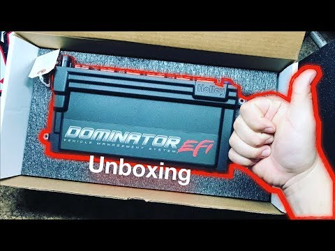 Holley Dominator EFI Unboxing And Wiring Plans