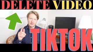 How To Delete Tik Tok Video 2019