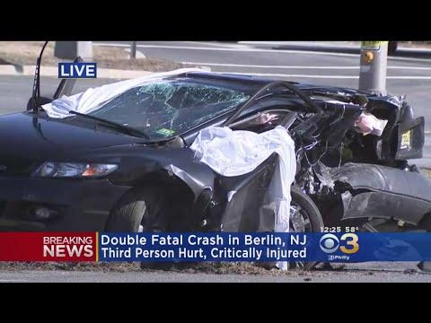 Double Fatal Crash In Berlin, N.J.