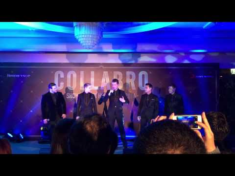 "Collabro Singing ""Let It Go"" From Disney's Frozen"
