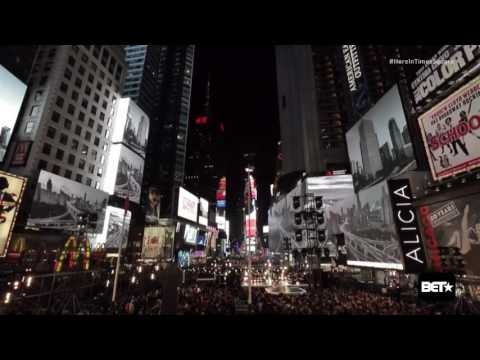 28 Thousand Days - Alicia Keys HERE In Times Square