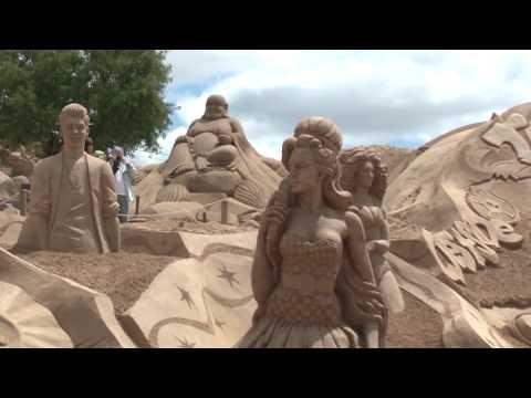 FIESA 2015 - 13º Festival Internacional de Escultura em Areia
