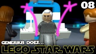 "LEGO STAR WARS The Complete Saga Ep 08 - ""WE SAVED GRANDMA!!!"""