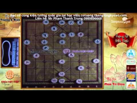 Trạng cờ đất Việt 2015 khu vực phía Nam - Vòng tứ kết - Phan Tri Châu vs Trương A Minh