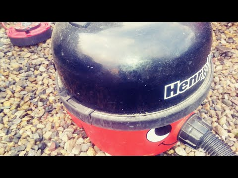Henry Hoover Extra Cleaning The Car , Van