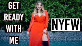 One of Arlyne Sanjines's most viewed videos: Get Ready with Me: NYFW!