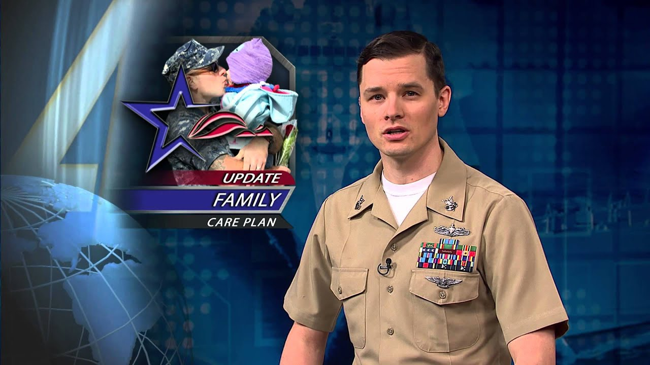 Navy Reminds Sailors to Update Family Care Plan - YouTube