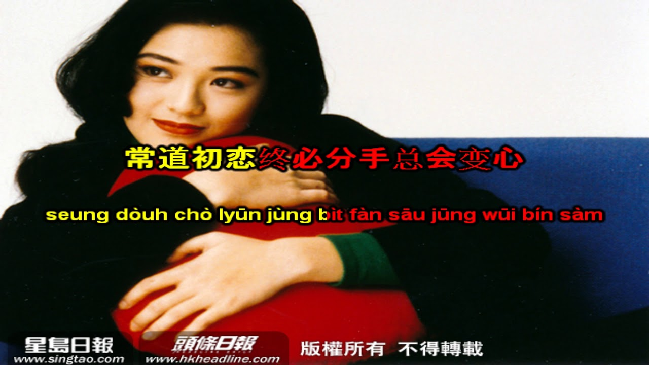 [kara+pinyin] 初恋情人 - Mối tình đầu