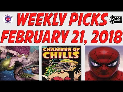 Weekly Picks for New Comic Books Releasing February 21, 2018