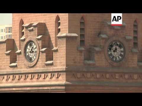 Karachi's colonial-era buildings falling into disrepair