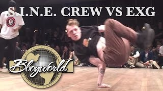 S.I.N.E CREW vs EXG | 3on3 | FLOOR WARS 2010