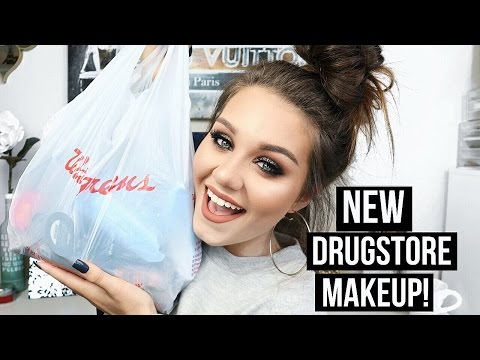 DRUGSTORE Makeup Haul   ALL NEW PRODUCTS!! Drugstore Week 1.0