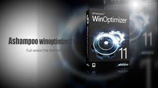 Ashampoo win optimizer 11 Full Version free download